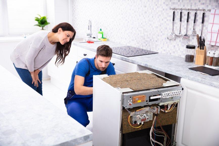 dishwasher repair service Moore Oklahoma